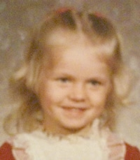 Candace at age four