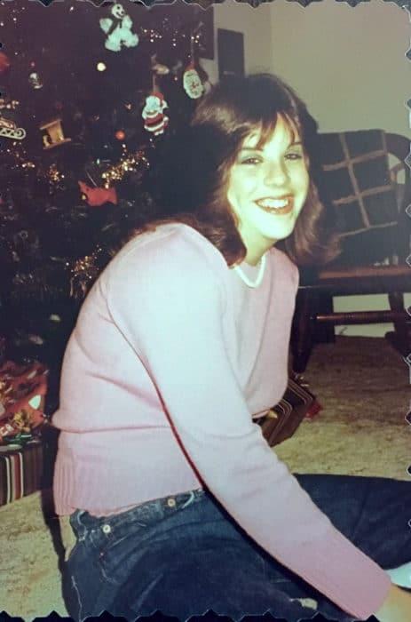 Karen in her teen years