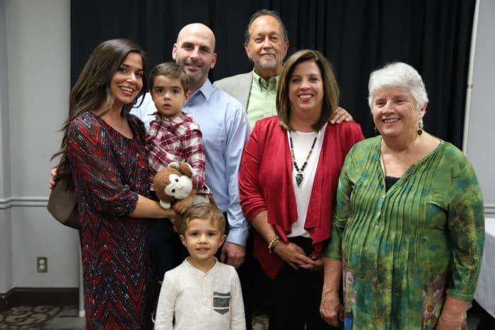Karen with Blake's family