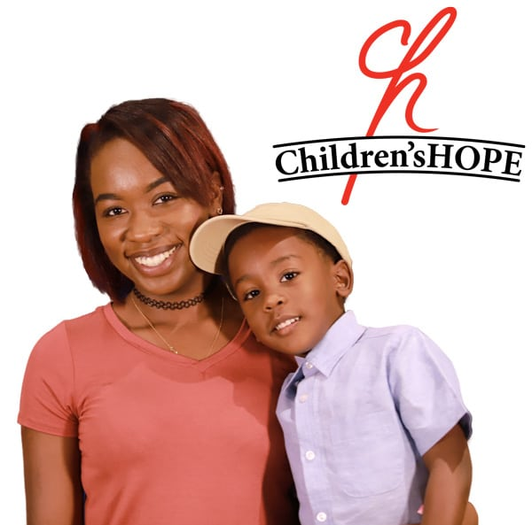 Children's Hope mother and son