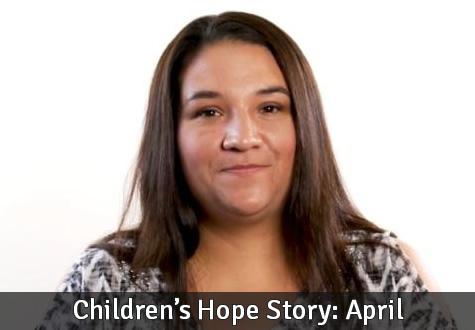 Children's Hope Story: April