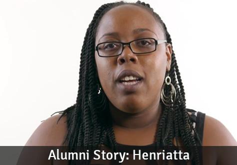 Alumni Story: Henriatta