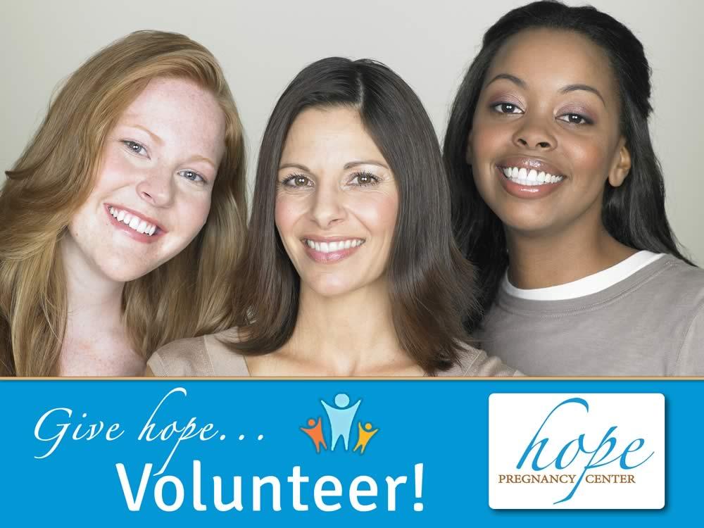 Give Hope... Volunteer!