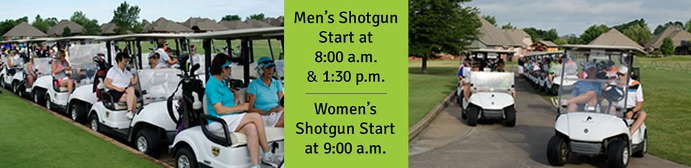 Golf tournament start times