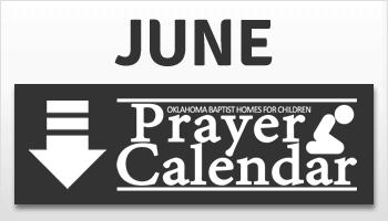 June Prayer Calendar