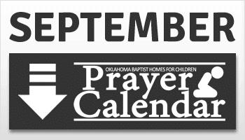 September Prayer Calendar