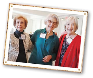three women at Women of Compassion