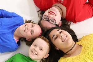 Four OBHC children