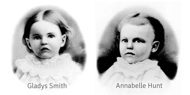 Gladys Smith and Annabelle Hunt