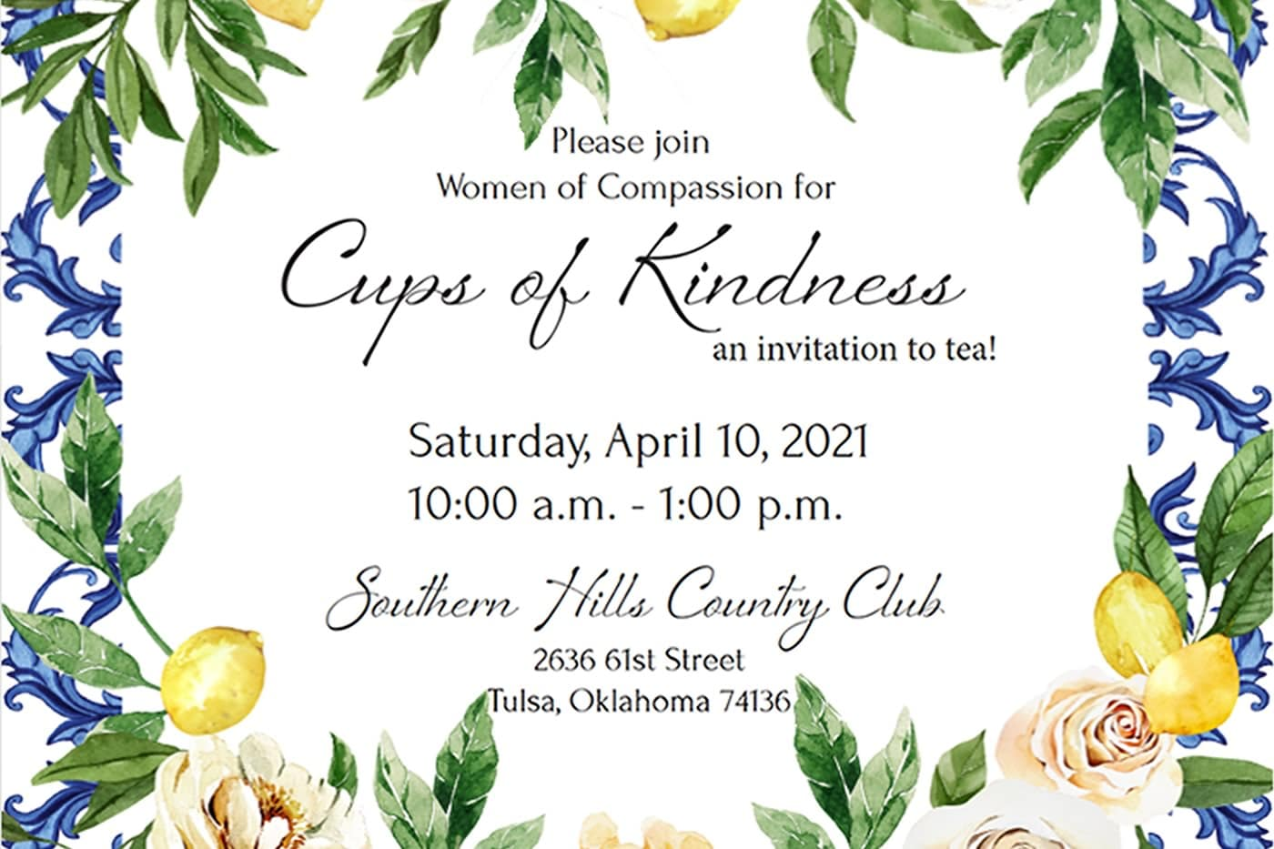 Women of Compassion Event