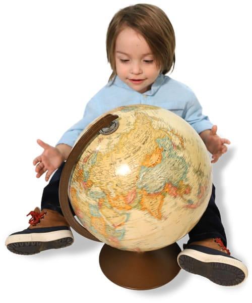 Owasso Style Show 2020 Child With Globe