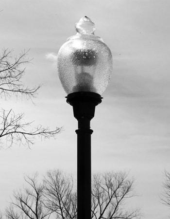 Oklahoma City campus light poles