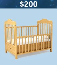 $200 Baby Crib