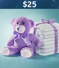 $25 Pack of Diapers