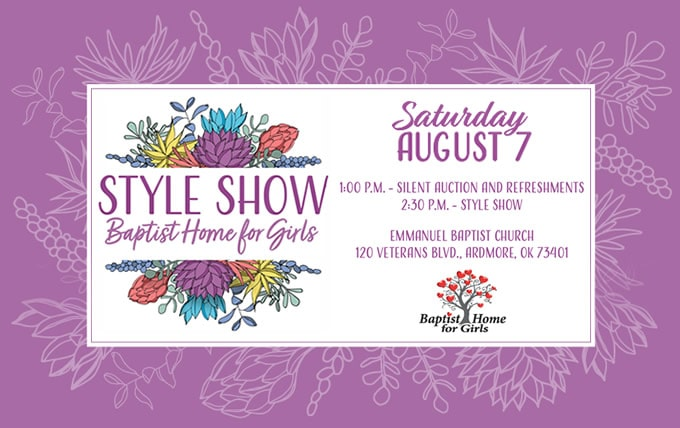Baptist Home for Girls Back-to-School Style Show