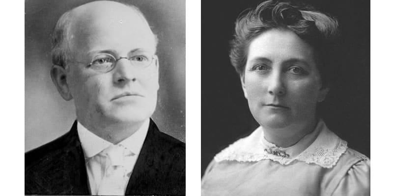 Rev. and Mrs. J.A. Scott